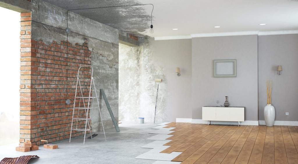 Renovation interior